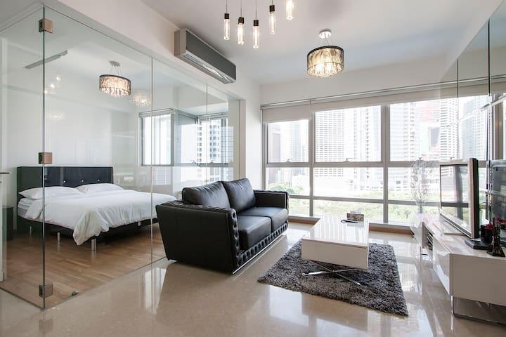 City Living Modern Apartment at Telok Ayer 12 - Singapur - Apartament