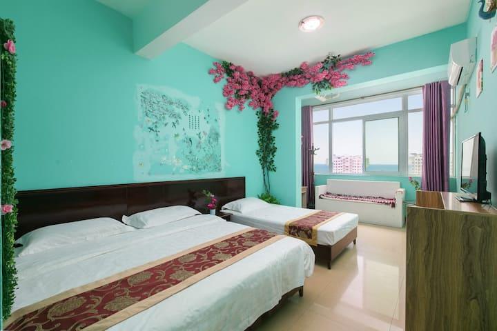 大东海海景一室双床房