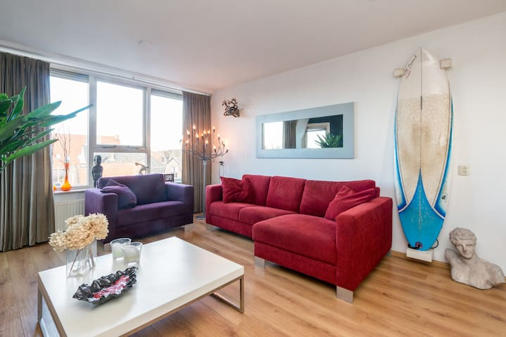 Apartment near sea and Amsterdam - Castricum - Apartamento