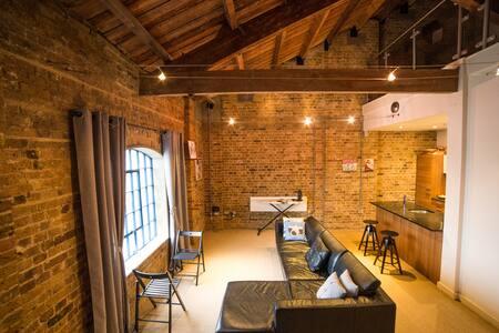 Cozy split-level loft apartment - London