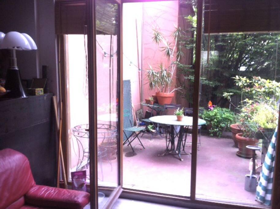 Loft 150m2 jardin 15mn paris centre lofts louer ivry for Jardin 150m2