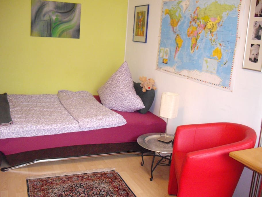Nice room for 1 or 2 people. Near the center of the city.