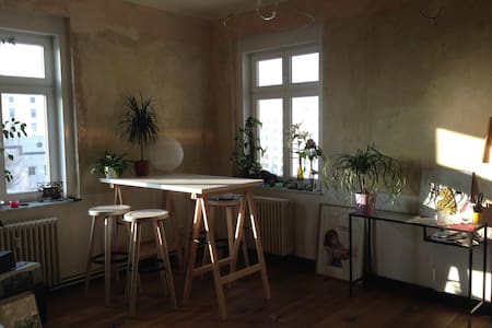 Bright, Central 1BD with Cat