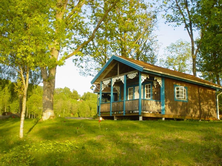Schwedisches Ferienhaus am See Asunden / Swedish stuga at Asunden sjön