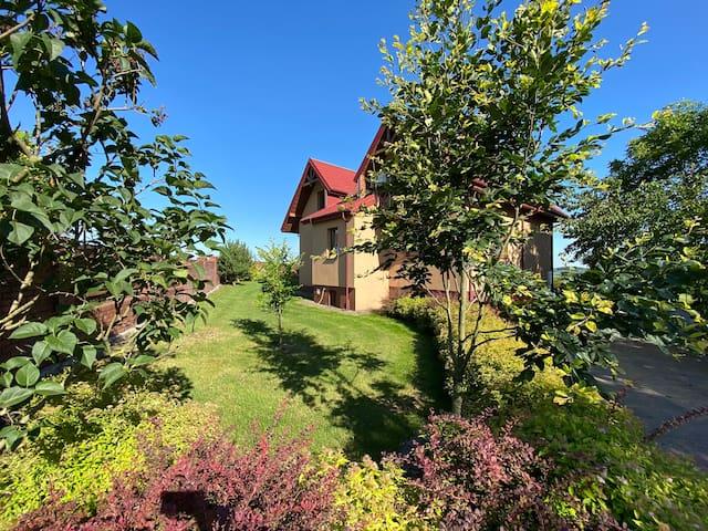 Dom z widokiem na lubelszczyźnie