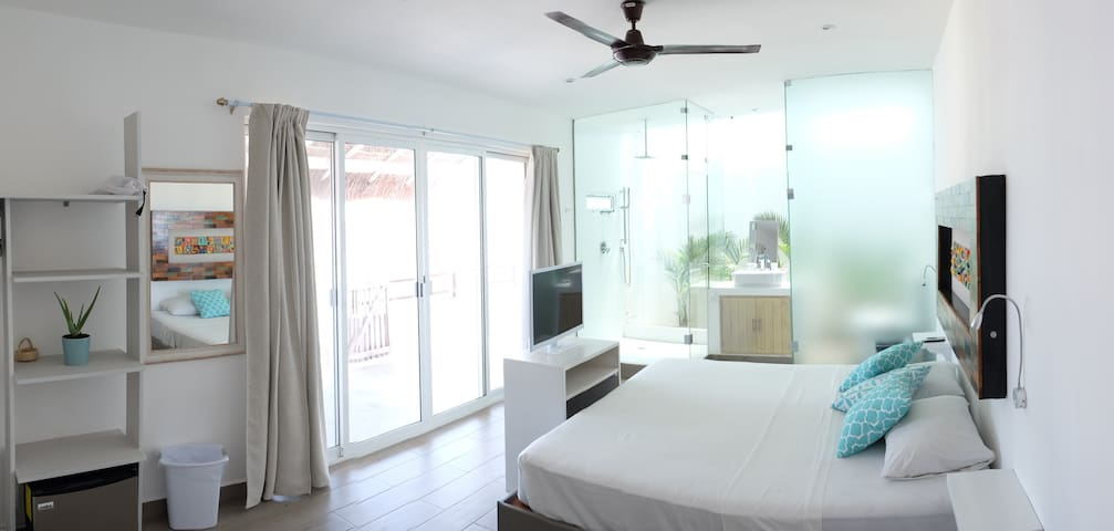 Seafront Penthouse With Terrace - Mahahual - Condominium