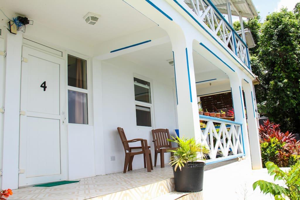 Exterior of Garden Room 4