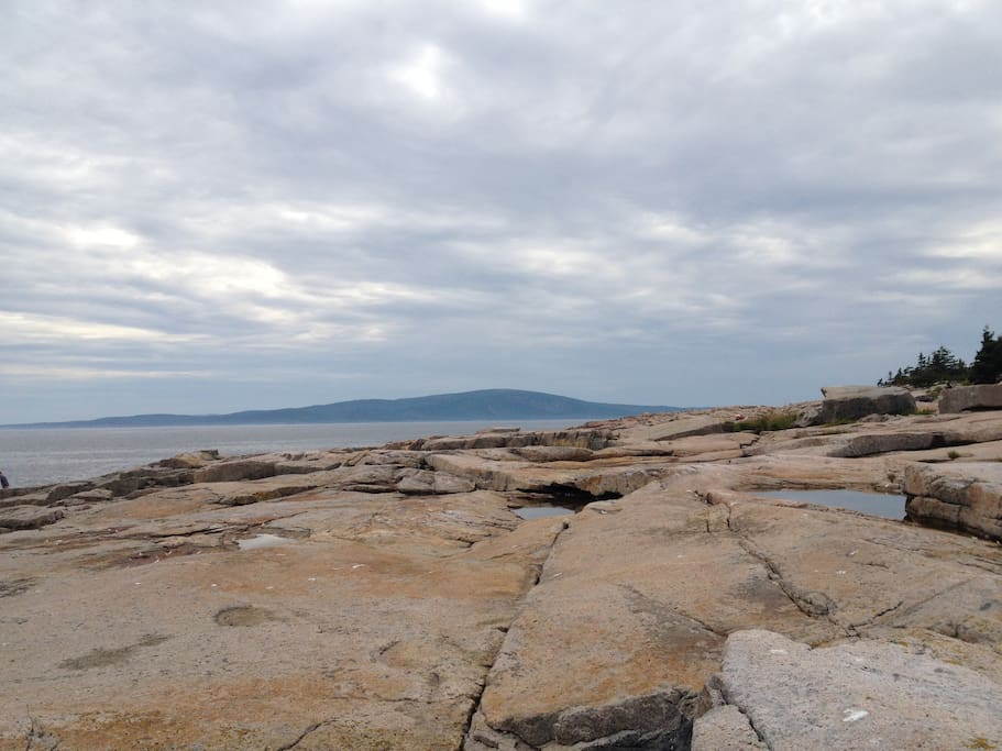 Acadia shore at nearby Schoodic Peninsula
