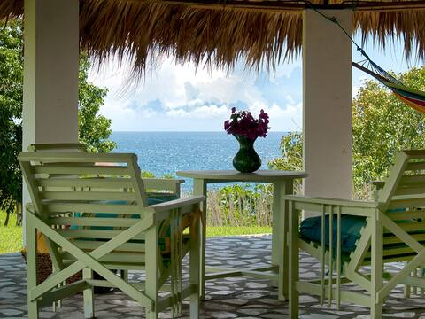 View from gazebo for our Likkle Suites guests.