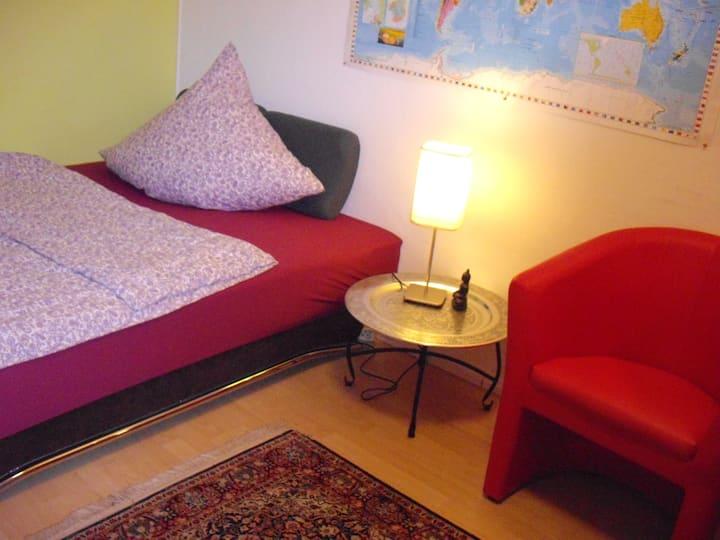 Room in row house (shared bathroom)