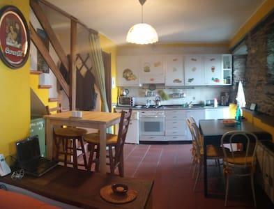 Into the wild house 10 min drive from Verbania - Caprezzo - Talo