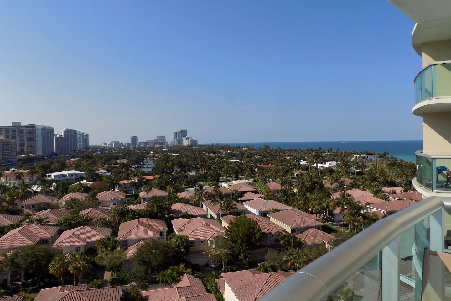 Amazing Ocean & City views from your Private Balcony