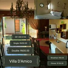 Villa D' Amico is the host.