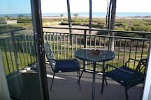 Enjoy 180 degree ocean view from the balcony