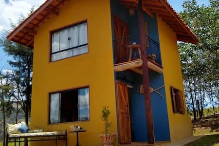 Chalé em Piracaia - Venha viver com a natureza!
