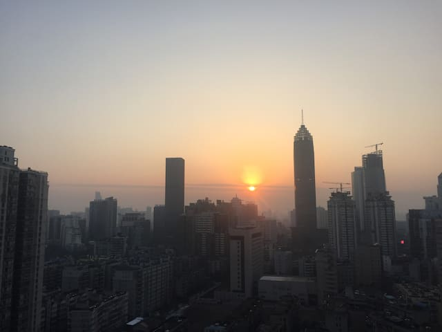 Roof top to your private parties - Wuhan - Apartment