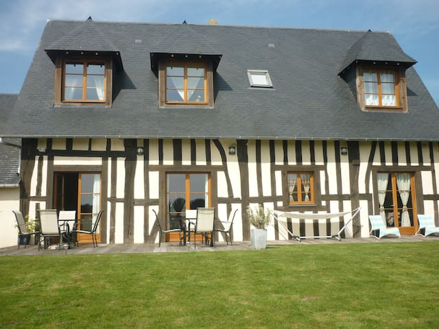 La grange d'isneauville (suite fam) - Isneauville - Bed & Breakfast