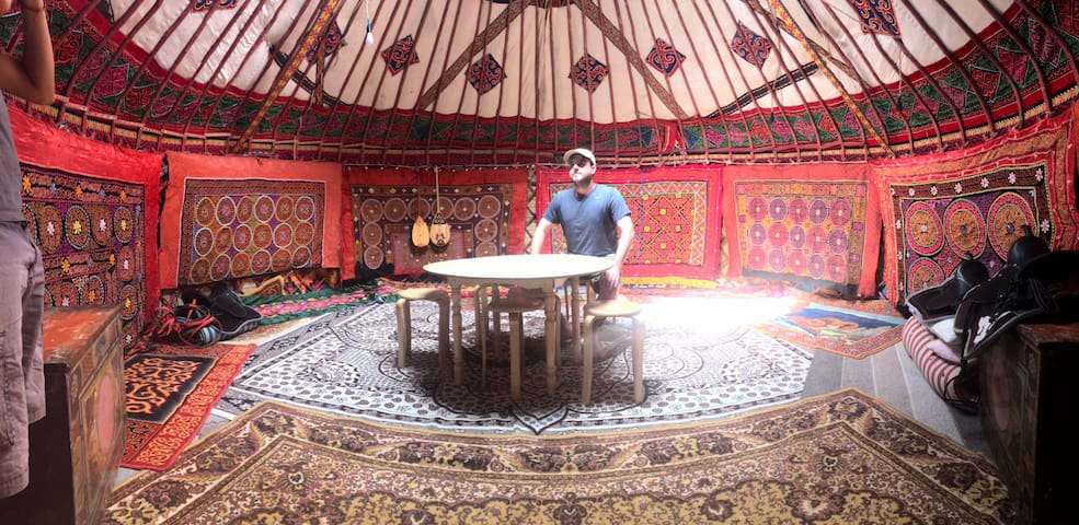 Almaty Yurt Camp