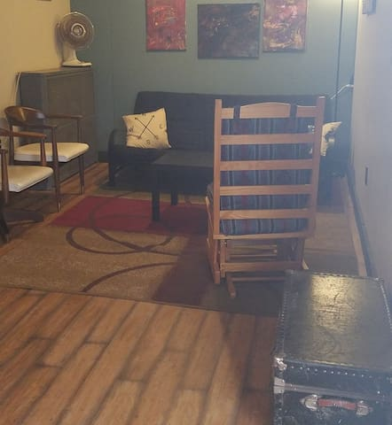 We have books and board games available for guests in our lounge.