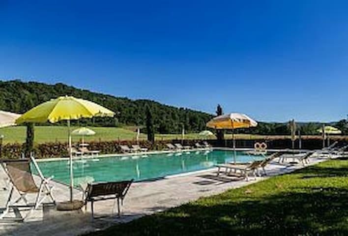Charmin countryside house in Tuscan - San Gimignano - Maison