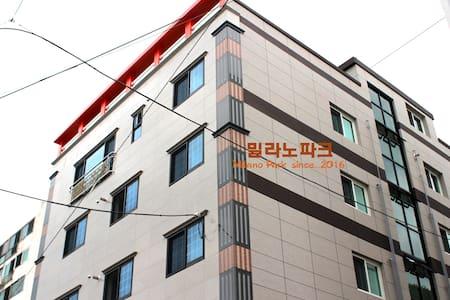 통영대교 인근에 위치한 밀라노파크 (투룸) - Misu-dong, Tongyeong-si