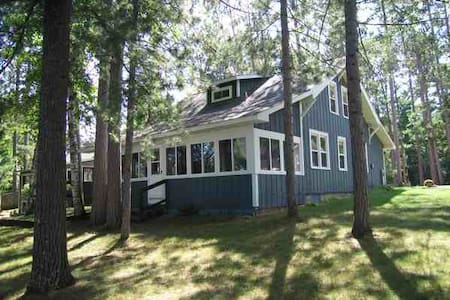 Luxury Cottage on Lake Minocqua - Talo