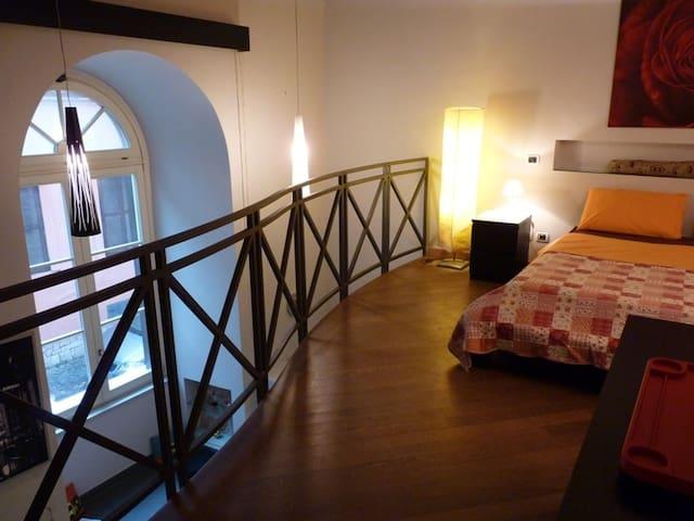 Fabulous Two-level loft,Trastevere x2+2 pax