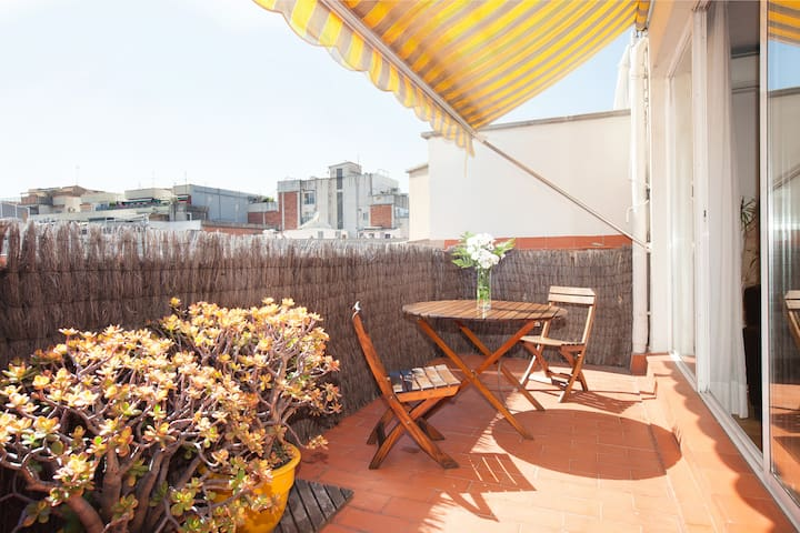 Apartment in Barcelona with terrace