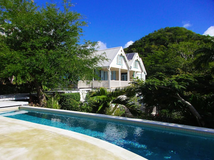 Spacious eco home in Turtle Bay + infinity pool
