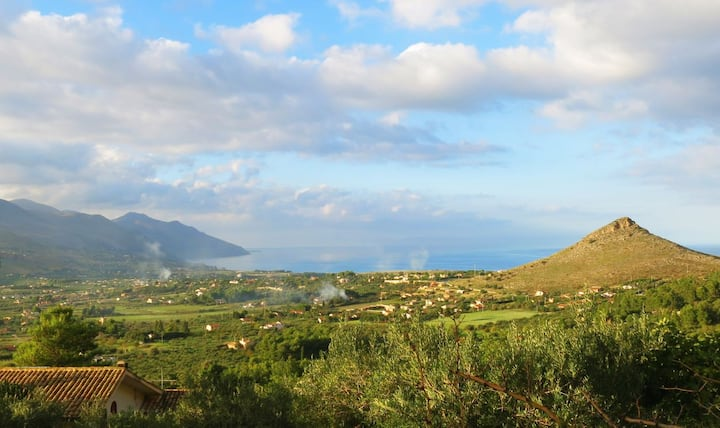 Villetta a 5km dal mare in una tenuta di uliveti