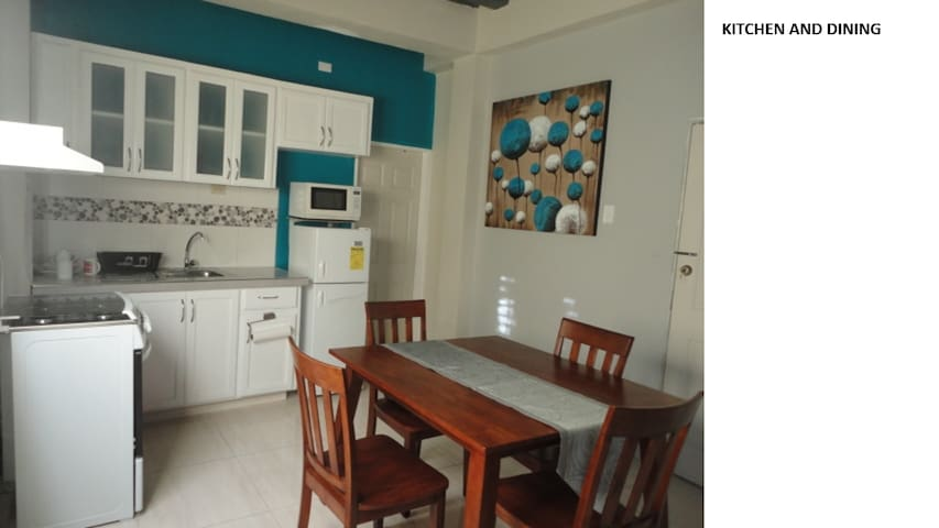 Self contained studio apartment near UWI - El Dorado - Departamento