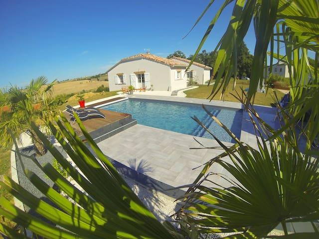 Maison avec piscine proche Toulouse - Odars - 獨棟