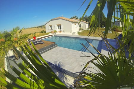 Maison avec piscine proche Toulouse - Odars