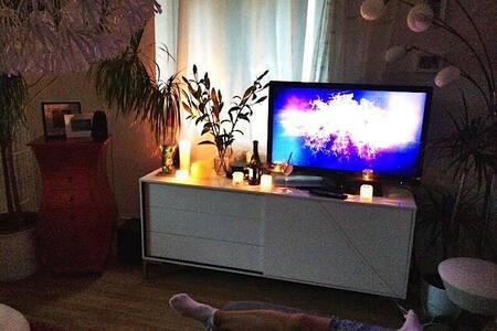 *gemütliche 2-Raumwohnung mitWi-Fi* - Berlin - Apartment
