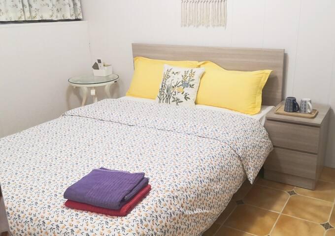 三楼303房:温暖亲子房,乳胶床垫