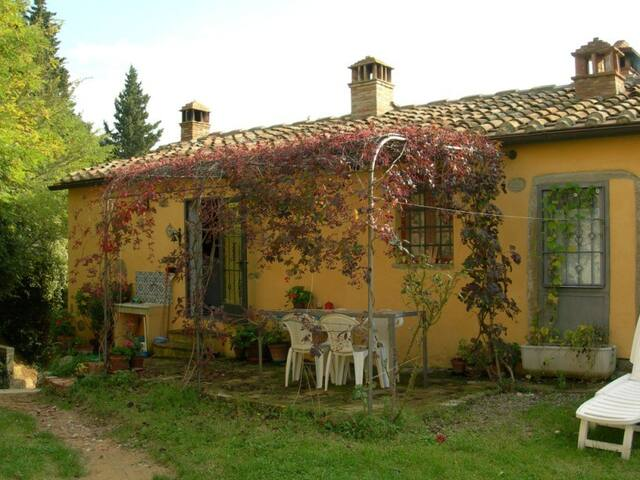 CHIANTI - Thypical home with view - FIANO  (Certaldo) - Casa