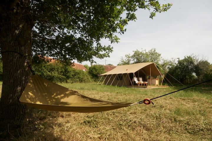 A Fully Equiped Luxury Safari Tent