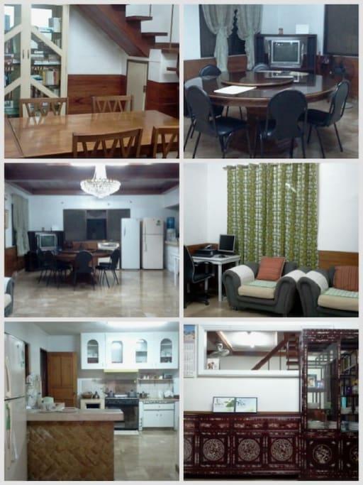 거실의 일부 사진