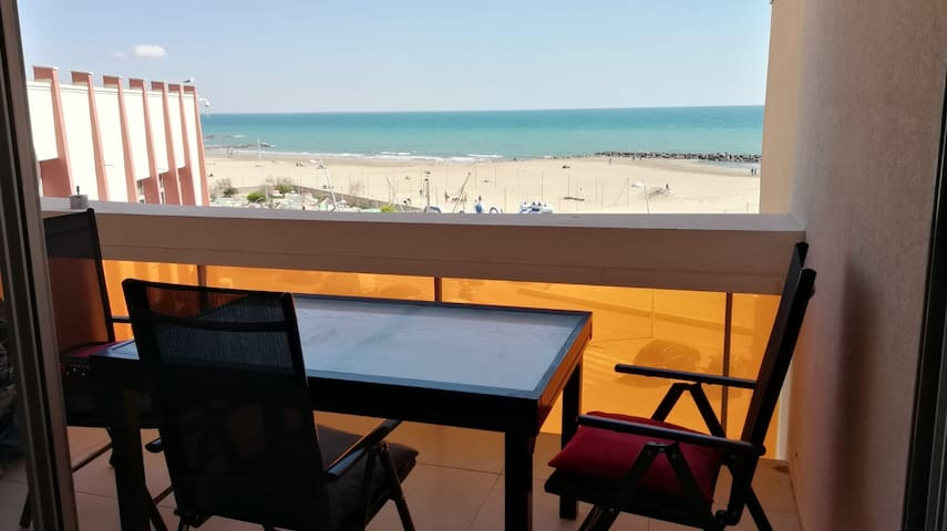 Très bel appartement front de mer  (5 couchages)