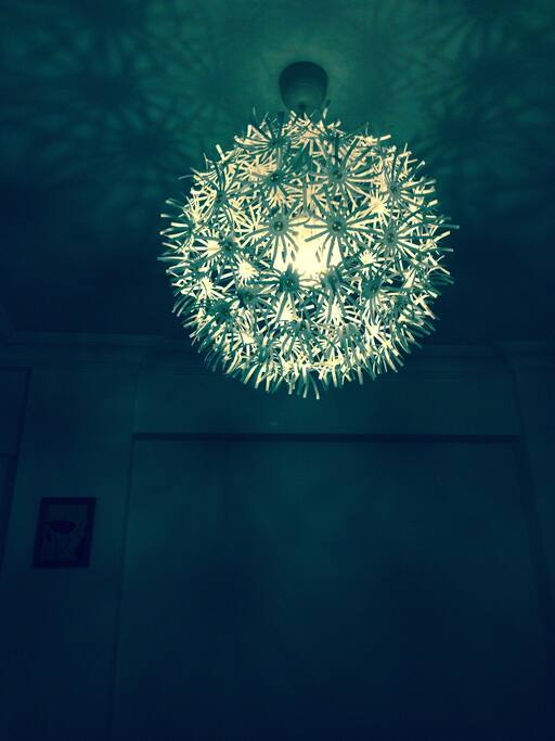 Lamp in the double room