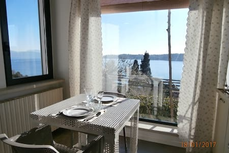 Apt Bouganville-Studio with pool and view on lake - Salò
