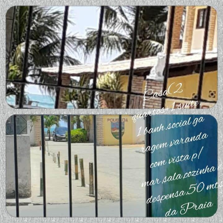 Casa em Japaratinga á 50mts do mar