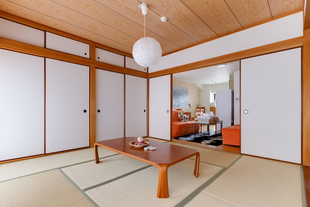The Japanese living room of your dreams.