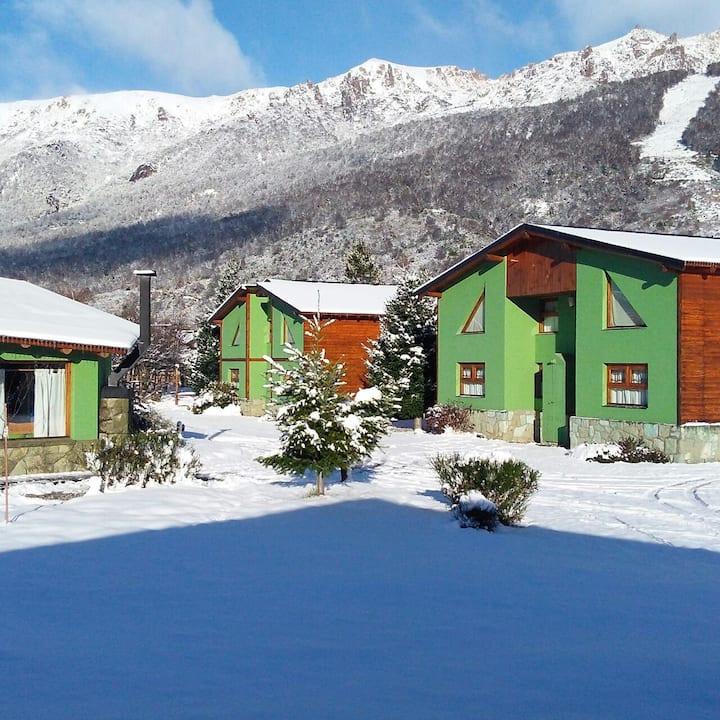 Cabañas Ruca Carel ubicadas en el Cerro Catedral