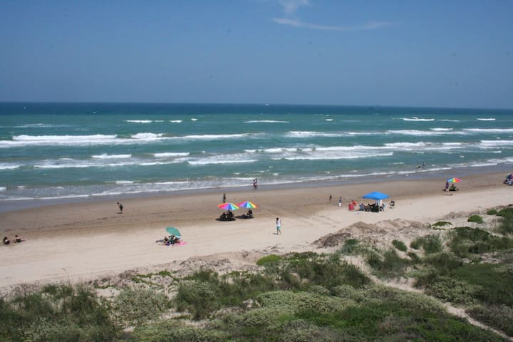 Beachfront PARADISE at it's BEST! - South Padre Island - Flat