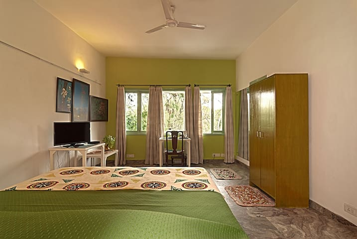 Haveli Hauz Khas, deluxe room Neem - Neu-Delhi - Bed & Breakfast