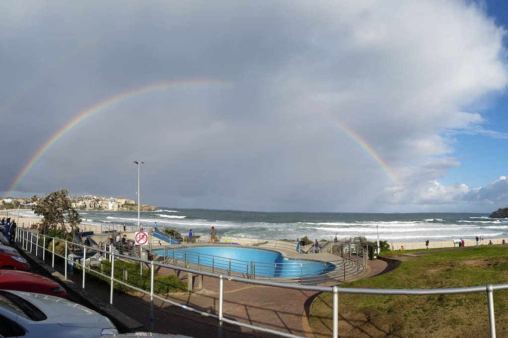 Rainbow over Bondi