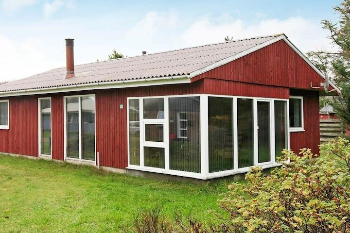 Charming Holiday Home in Oksbøl Near Beach