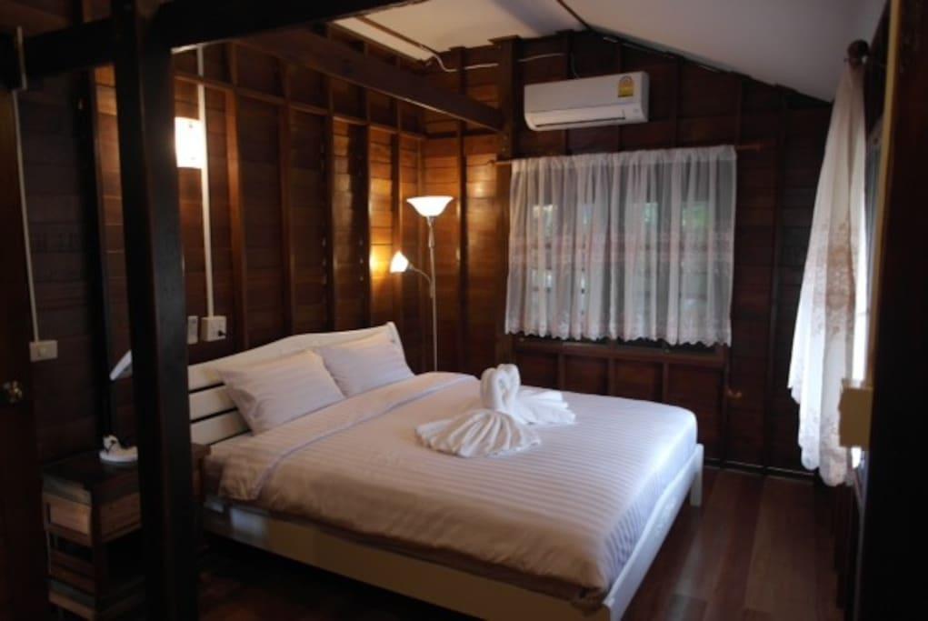 Schlafzimmer des Marine House, Koh Yao Noi, Thailand