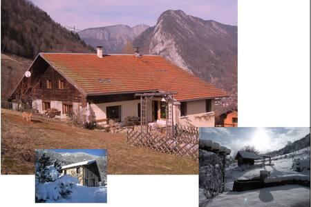 CHALET 6/14 personnes à THONES - Thônes - Hytte (i sveitsisk stil)